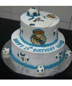 Amazing Real Madrid Cake Order Online With Free Delivery Funny Birthday Cards Online Elaedamsfinfo